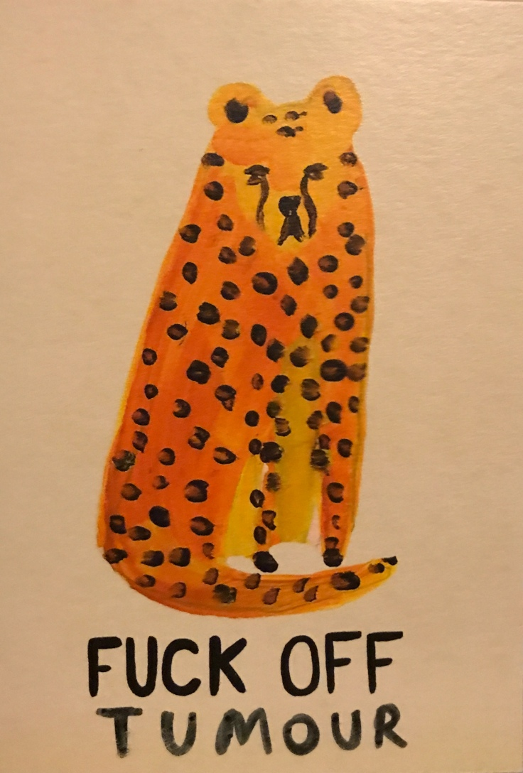 Josie Brookes Tumour Leopard