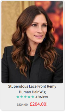 Oh come on. This is Julia Roberts.