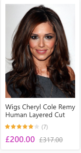 You can call it Cheryl, doesn't distract from the fact that this is Cheryl's hair (with a few extensions maybe) YOU CAN SEE HER PARTING, FFS